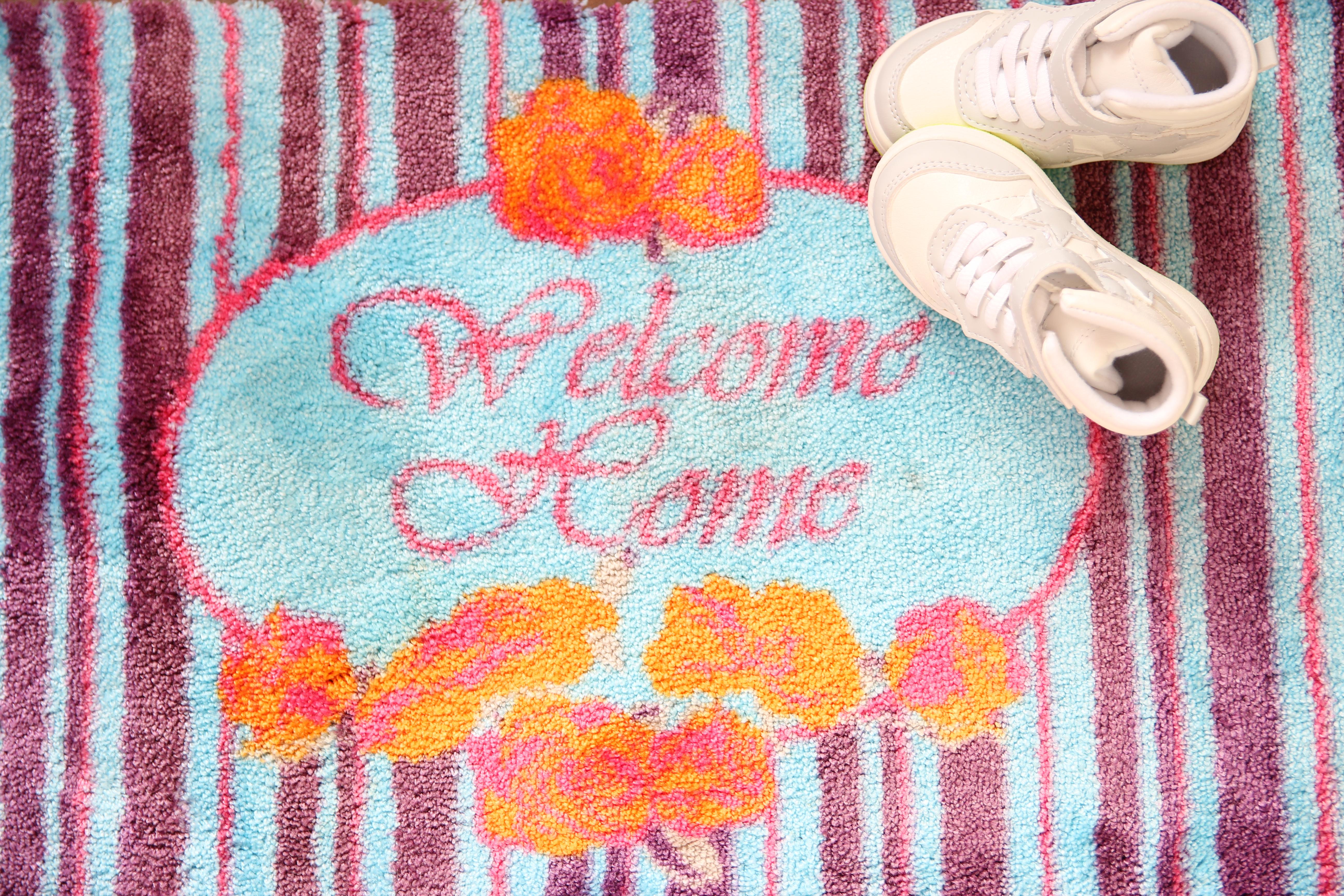 """Das """"Willkommen"""" beginnt vor der Eingangstür"""