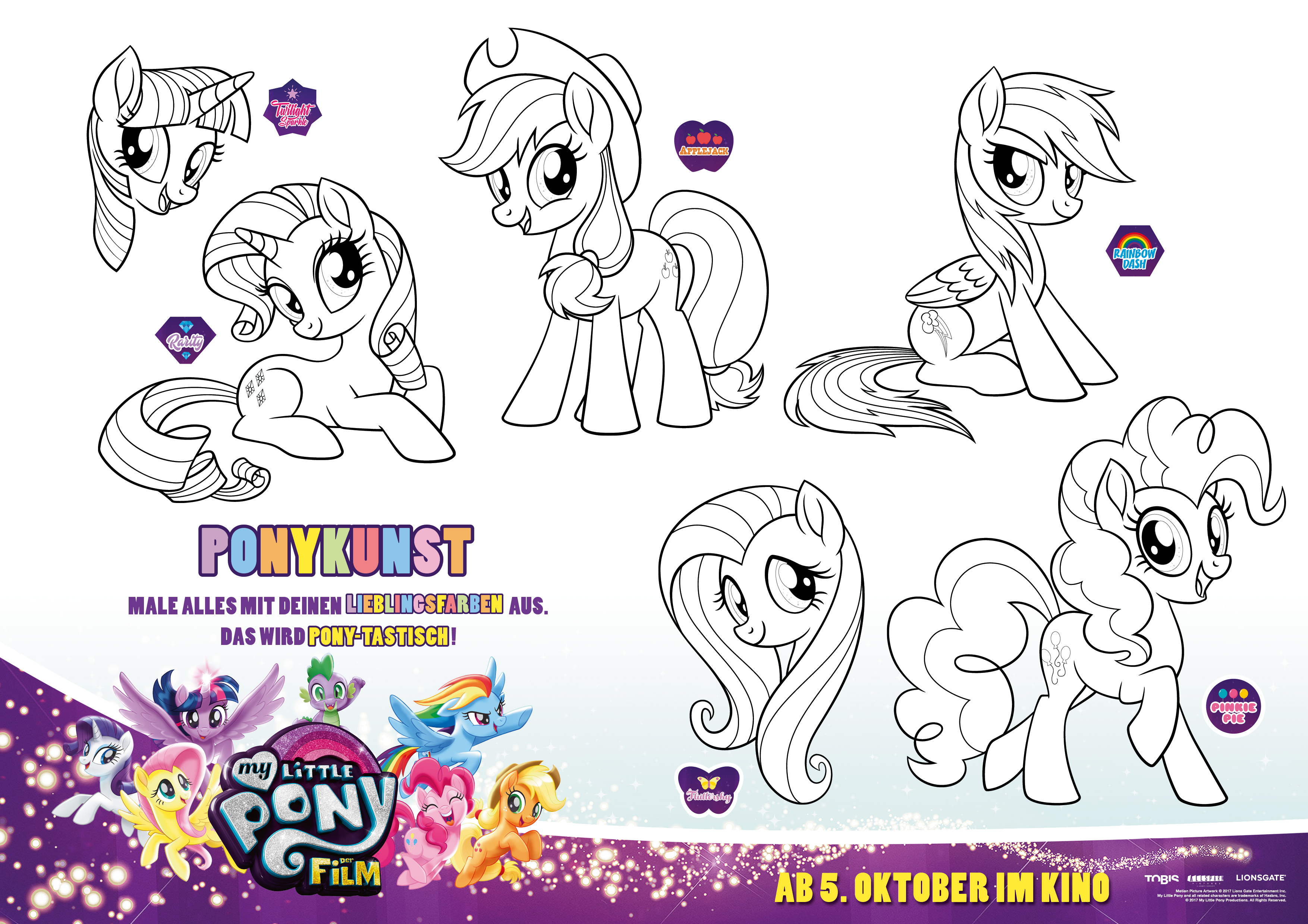 My Little Pony Tempest Ausmalbilder : My Little Pony Der Film