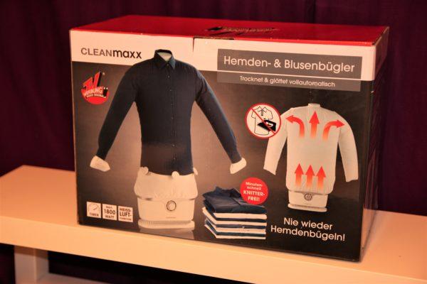 Die Clean Maxx Bügelpuppe